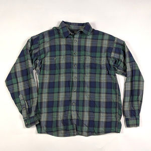 Patagonia Plaid Organic Cotton Size S Shirt